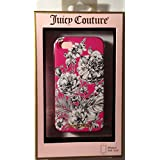 Juicy Couture Drawn Flower Hard Case Snap-on Case Cover For Apple iPhone 4S / iPhone 4