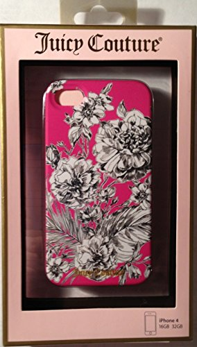 juicy-couture-drawn-flower-hard-case-snap-on-case-cover-for-apple-iphone-4s-iphone-4