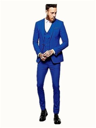 Xgsd Fashion Formal Men Suit Party Dress Men Suit 3 Piece Jacket