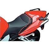 Sargent World Sport Seat Black W/Blk Accent for Honda VFR800 Interceptor 2002-09