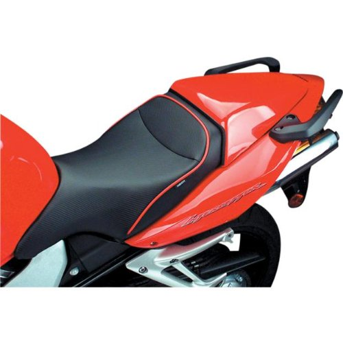 Sargent World Sport Seat Black W/Blk Accent for Honda VFR800 Interceptor 2002-09
