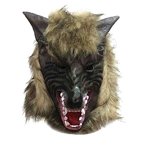 2019 Halloween Funny Animal Head Latex Mask Party Essential Novelty Horse Bird Lion Head Mask Halloween Costume Props