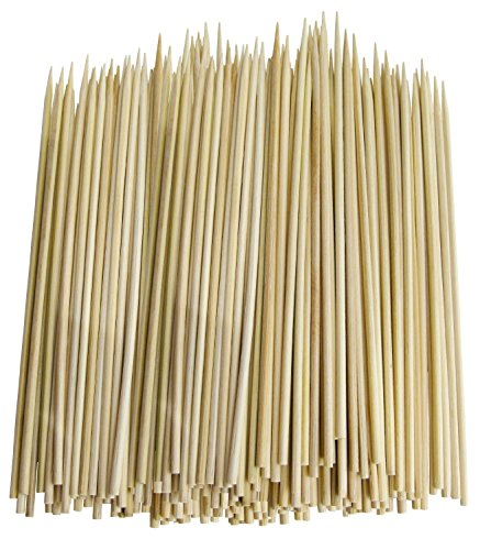 Chef Craft 3774X3 Thin Bamboo Skewers, 300 Piece -