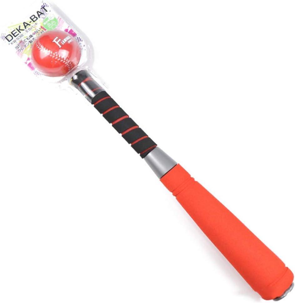 Safe T-Ball//Set Softball avec Sac de Transport pour Les Enfants de 3-4,Blue PU Ball IDE Play Enfants Mousse 22 Pouces Baseball Bat Toy Set