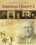American History 2 (After 1865) - Softcover Student Edition with CD-ROM (High School Exit Exam Test Prep FL & TX)