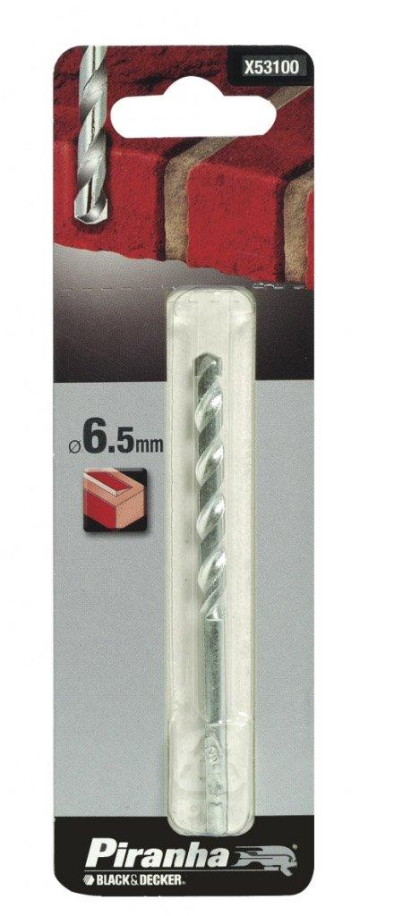 Piranha Masonry Drill Bit 6.5x100mm