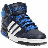 adidas NEO BB9TIS K Basketball Shoe (Little Kid/Big Kid) (7 M US Big Kid, Collegiate Navy/White/Satellite)