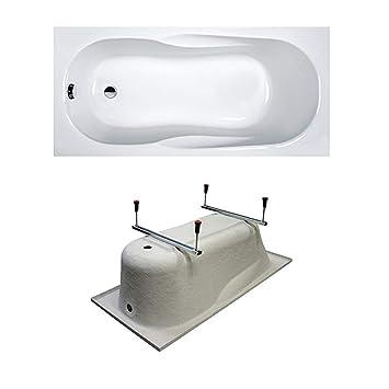 Sanplast Rechteck Badewanne Wanne Acryl 140x70 Cm Mit Fusse Amazon