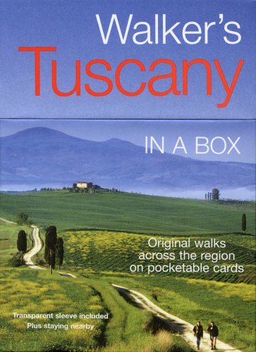 Walker's Tuscany in a Box (In a Box Walking & Cycling Guides)