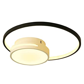 Modern Led Deckenleuchte Runde Ring Design Deckenlampe Kreative