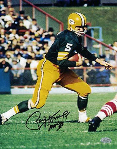 (Paul Hornung Signed 8x10 Photo Authenticated Mounted Memories Green Bay)