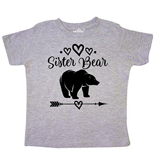 Sister Bear - inktastic - Sister Bear Native Arrow Toddler T-Shirt 4T Heather Grey 2de0f
