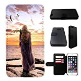 Game of Thrones Iphone 6 wallet leather case, iphone 6 wallet case, iphone 6 flip case, black