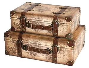 Amazon.com: Vintiquewise(TM) Old World Map Leather Vintage Style ...
