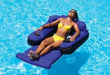 Ultimate Floating Lounger for Swimming Pool & (Ultimate Floating Pool)