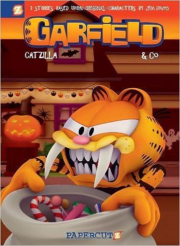 Amazon Com Garfield Co 3 Catzilla Garfield Graphic Novels 9781597072786 Davis Jim Evanier Mark Various Books