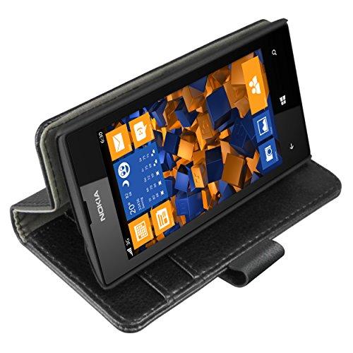 mumbi Tasche im Bookstyle für Nokia Lumia 520 Tasche