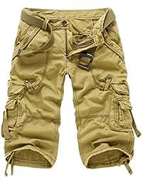 Amazon.com: Yellow - Cargo / Shorts: Clothing, Shoes & Jewelry