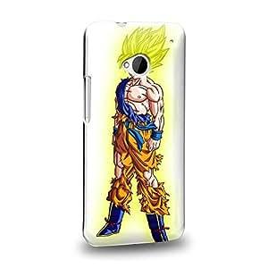 Case88 Premium Designs Dragon Ball Z GT AF Son Goku Super Saiyan Son Goku Protective Snap-on Hard Back Case Cover for HTC One M7