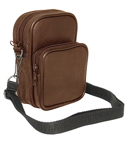 Amerileather Leather Video/ Audio All-purpose Pouch (Apc Backpack)