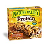 Nature Valley Protein Chewy Bar, Peanut Butter Dark Chocolate, 1.42 Ounce, 5 Count (Pack of 3)