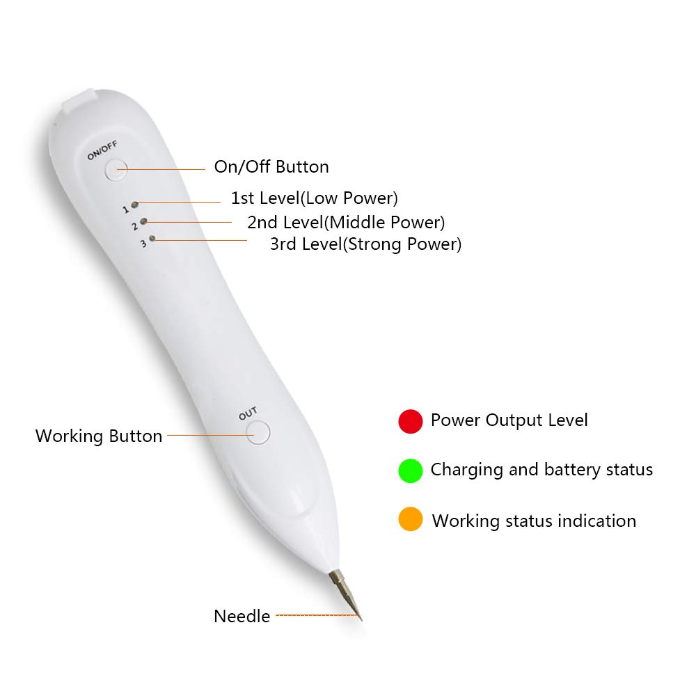 YOOMING Laser Freckle Removal Machine Skin Mole Removal Dark Spot Remover for Face Wart Tag Tattoo Remaval Pen Salon Beauty