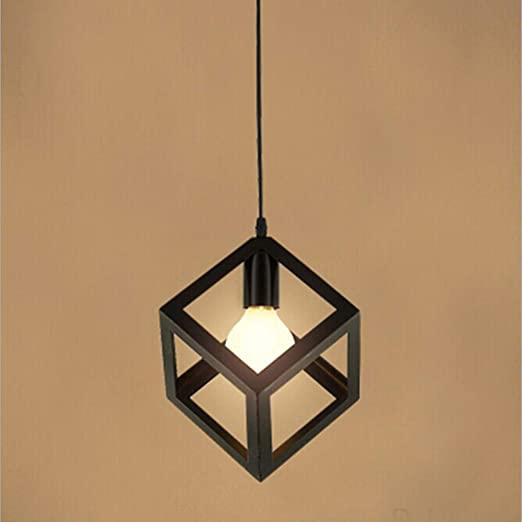 Lustre Suspensions en forme de cube moderne, Suspension