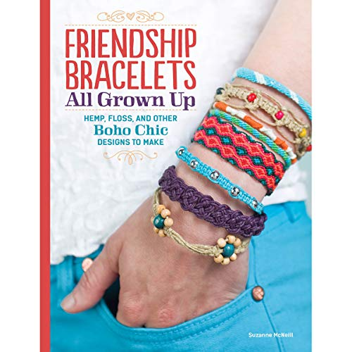 Design Originals DO5440 Friendship Bracelets All Grown Up