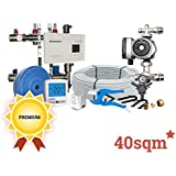 40sqm Premium Dual-Zone Wet Underfloor Heating Kit, 2 zone, Heatmiser, Grundfoss & Rifeng products, 50 year Guarantee