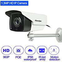 ABOWONE 1.30MP 960P IP Camera CCTV Security Camera with Poe