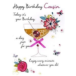 Amazon.com: Tarjeta de felicitación de feliz cumpleaños con ...