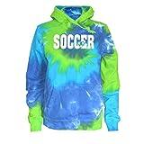 JANT Girl Soccer Tie Dye Sweatshirt - Soccer Logo