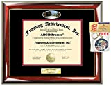 Diploma Frame Capital University School Campus Photo Custom Graduation Gift Idea Engraved Picture Frames Engraving Plaque Personalized Document Certificate Holder Graduate Him Her