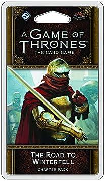 Fantasy Flight Games A Game of Thrones LCG Second Edition The Road to Winterfell Card Game by: Amazon.es: Juguetes y juegos