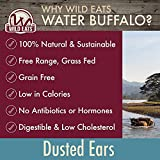Wild Eats Water Buffalo All Natural Dusted Ear Dog