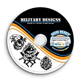 Military Army Navy Marines Clipart-Vector Clip Art-Vinyl Cutter Plotter Images-T-Shirt Graphics CD