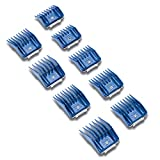 Andis 9-Piece Clipper Combs for Small Pets, Blue