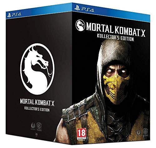 French European Version ~ Mortal Kombat X Kollector's Import Edition - PlayStation 4 ~ All Written Content is in FRENCH (Kombat Import X Edition Mortal)