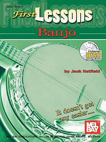 - Mel Bay First Lessons Banjo Book/CD Set