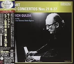 Mozart: Piano Concertos 21&27