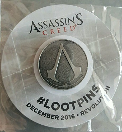 Price comparison product image ASSASSINS CREED Pin Loot Crate Revolution Assassin's Creed Logo Pin