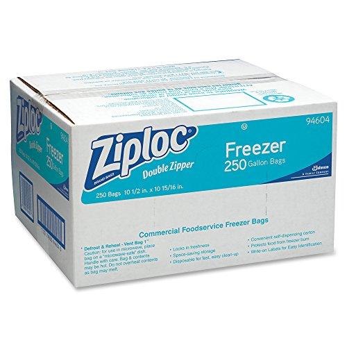 ziploc-94604-double-zipper-freezer-bags-1gal-27mil-clear-w-label-panel-case-of-250