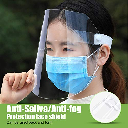 Anti Pollution Protective Hat Transparent Adjustable Shield Dustproof Outdoor Mask Cover