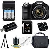 Sony Cyber-shot DSC-H200 Digital Camera 32GB Package 4