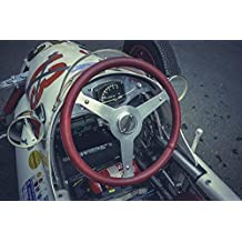 LAMINATED 36x24 Poster: Formula 1 Formula 3 Auto Race Car Racing Racing Car Automotive Vehicle Motorsport Speed Flitzer Tuning Vintage Oldtimer Race Cockpit Steering Wheel