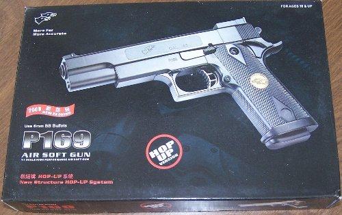 (p169 doubleeagle 1911 air soft 6mm bb gun 1/1 scale high performance fps185(Airsoft Gun))