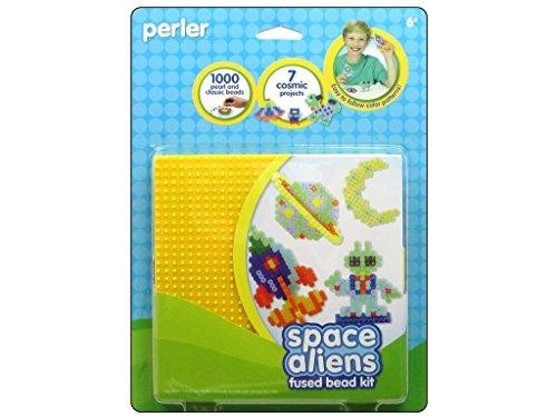 Perler Beads Fused Bead Kit, Space Aliens