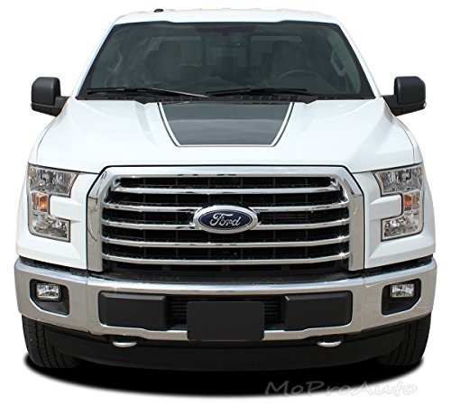 FORCE HOOD - SOLID COLOR : 2015-2018 Ford F-150 Series Wide Center Hood