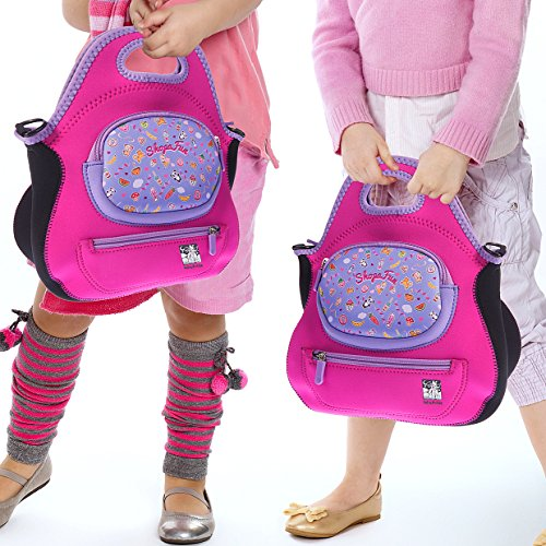 Felix and Wise and ShopaFun Washable Neoprene Tote Bag for Kids