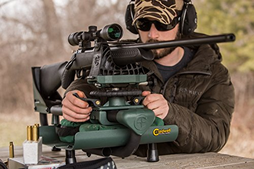 Caldwell Lead Sled DFT 2 Adjustable Ambidextrous Recoil Reducing Rifle Shooting Rest for Outdoor Range by Caldwell (Image #4)